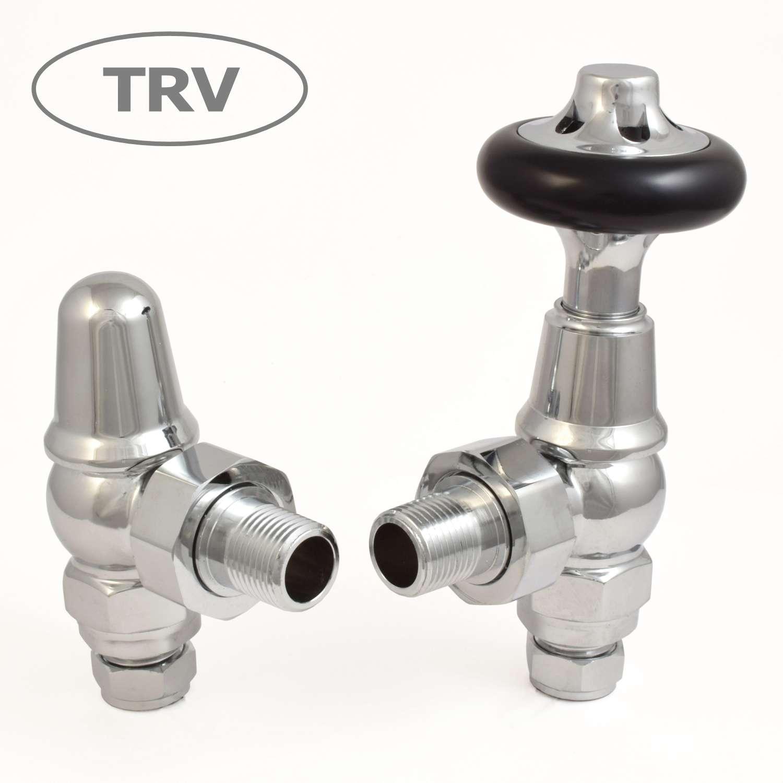 West Admiral Chrome Angled TRV Valve